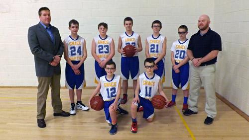 boys basketball team 2015