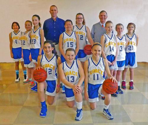 Girls Basketball Team 2015