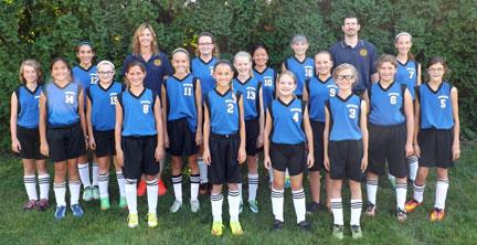 girls soccer team grace baptist christian school
